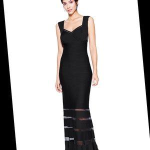 NWT TADASHI SHOJI Black Evening Gown